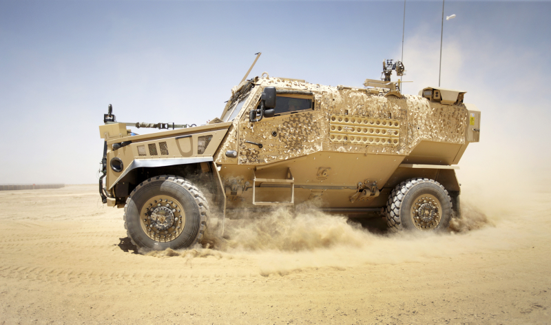 Foxhound Light Protected Patrol Vehicle in Afghanistan