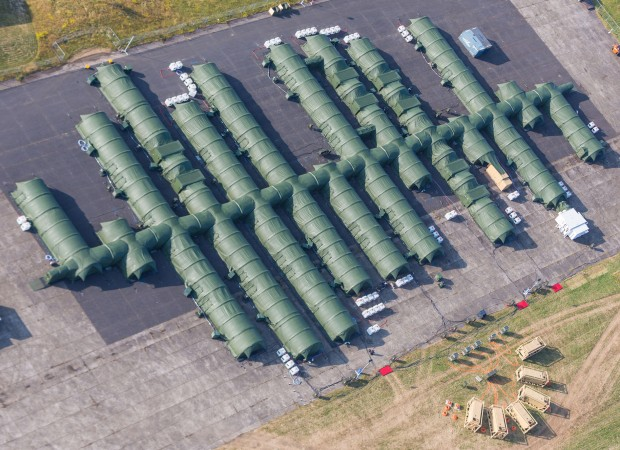 Marshall ADG CB Protected Field Hospital_aerial view