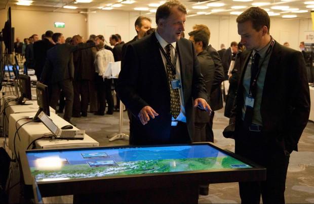 Tabletop demonstration Copyright MBDA 2015